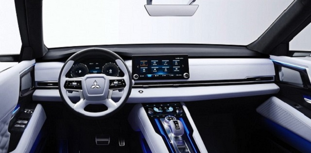 2022 Mitsubishi Outlander cabin
