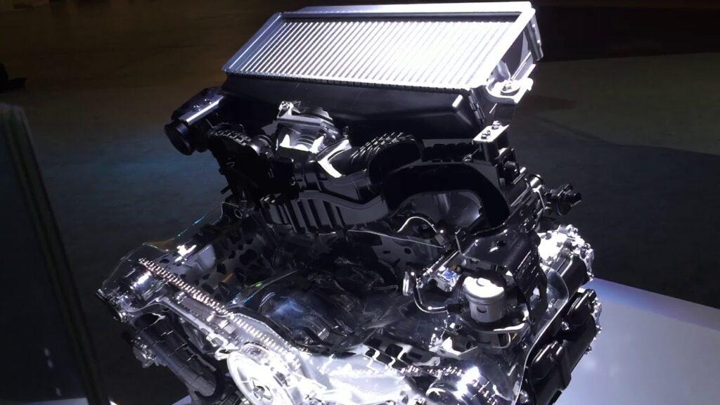 2022 Subaru Forester engine Ascent