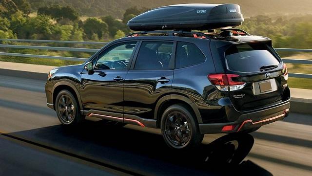 2022 Subaru Forester rear