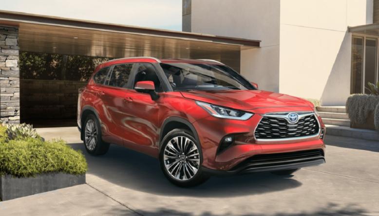 2022 Toyota Highlander front