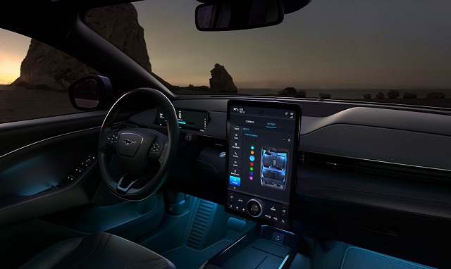 2021 Mustang Mach-E GT interior