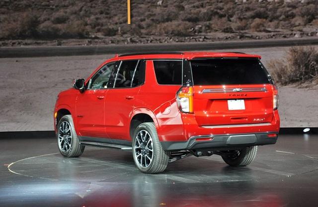 2022 Chevrolet Tahoe rear