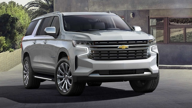 2022 Chevy Suburban front