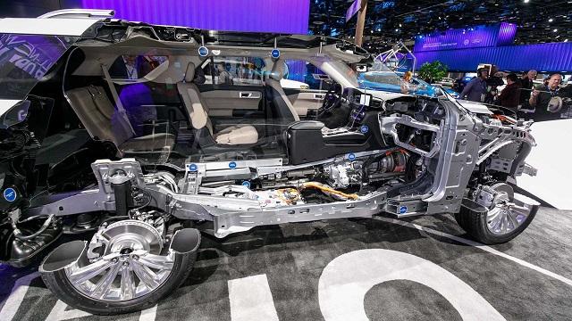 2022 Ford Explorer hybrid