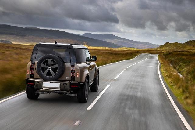 2022 Land Rover Defender rear