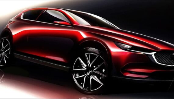 2022 Mazda CX-50 front