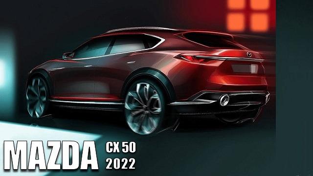 2022 Mazda CX-50 rear