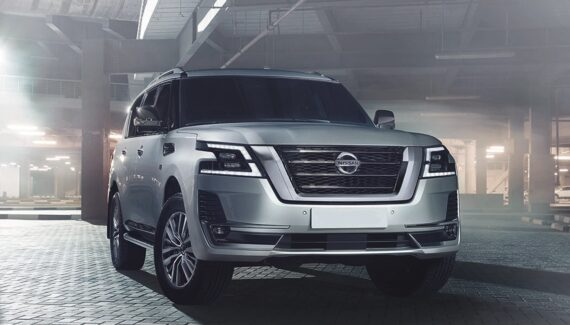 2022 Nissan Armada front