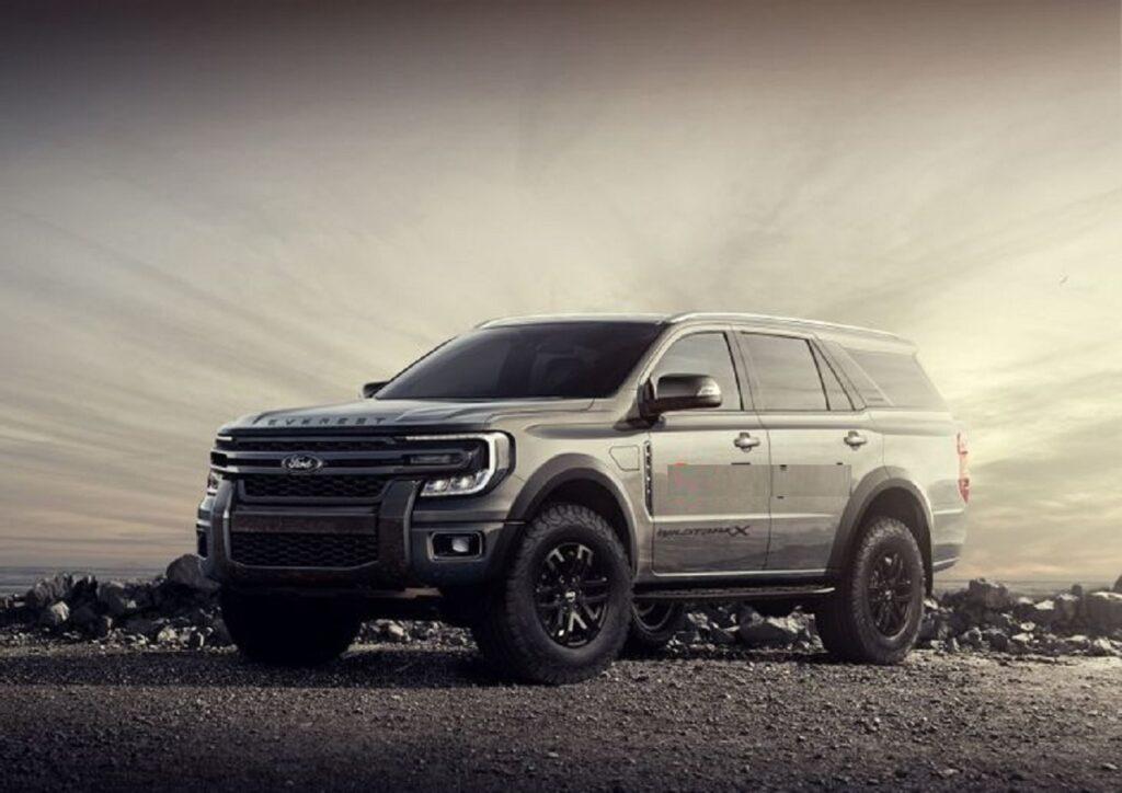 2022 Ford Everest Wildtrak X
