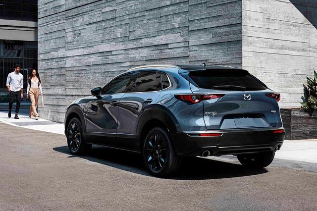 2022 Mazda CX-30 rear