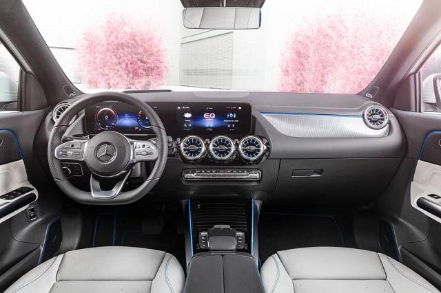 2022 Mercedes-Benz EQA interior