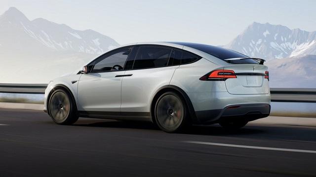 2022 Tesla Modex X rear