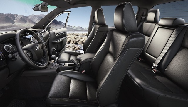 2022 Toyota Fortuner cabin
