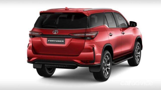 2022 Toyota Fortuner rear