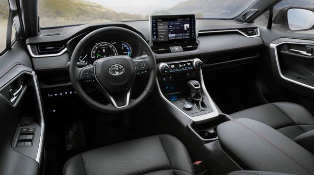 2022 Toyota RAV4 cabin
