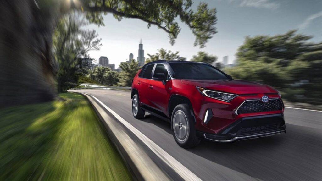 2022 Toyota RAV4 front