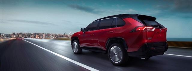 2022 Toyota RAV4 rear