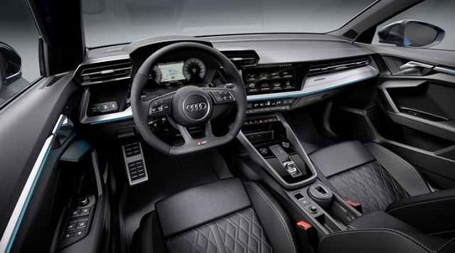2022 Audi Q3 cabin