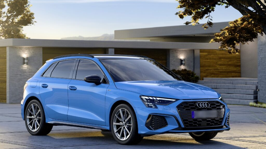 2022 Audi Q3 front