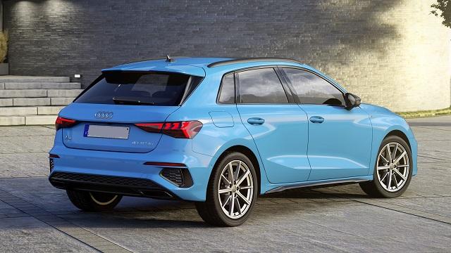 2022 Audi Q3 rear