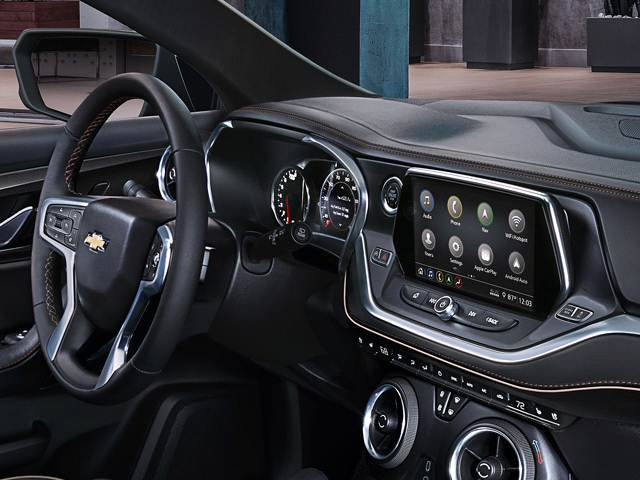 2022 Chevy Trax cabin