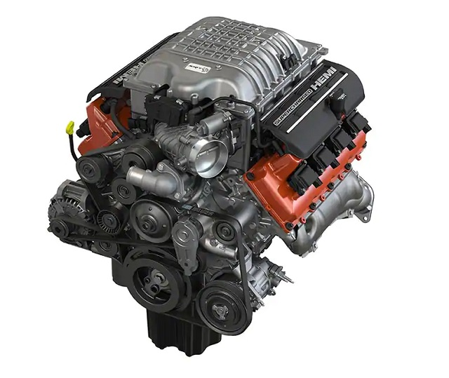 2022 Dodge Durango SRT Hellcat engine