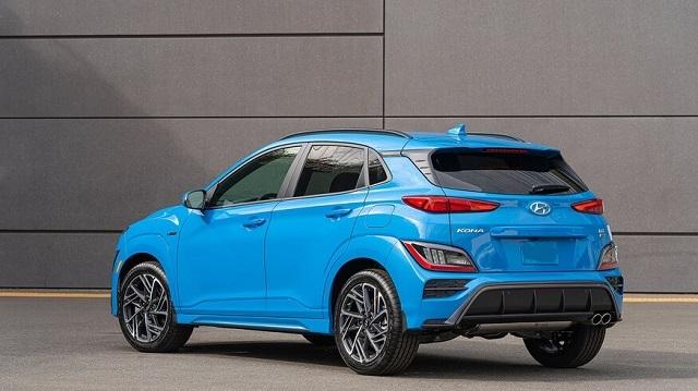 2022 Hyundai Kona rear