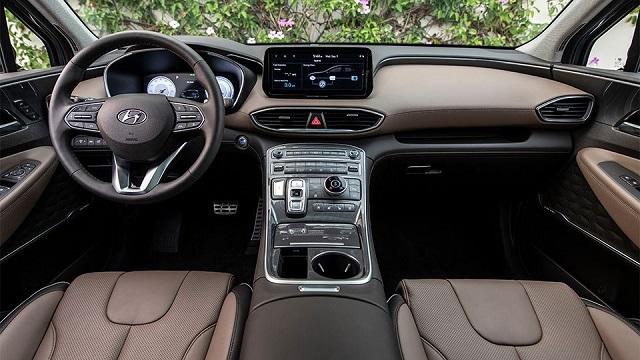 2022 Hyundai Santa Fe Plug-In Hybrid interior