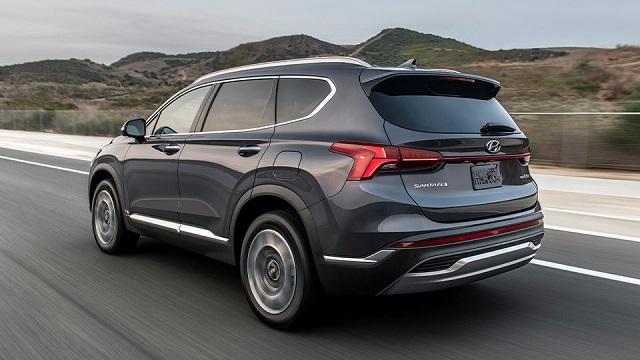 2022 Hyundai Santa Fe Plug-In Hybrid rear