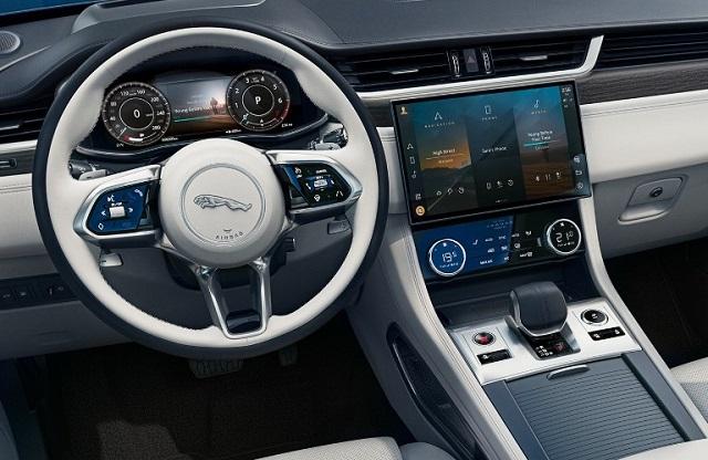 2022 Jaguar F-Pace interior