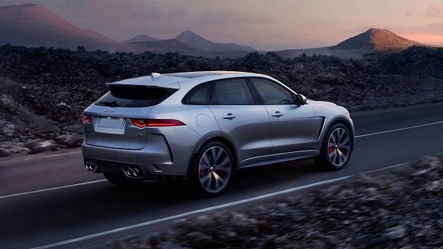 2022 Jaguar F-Pace rear