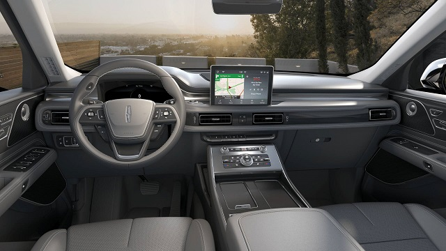 2022 Lincoln Nautilus interior