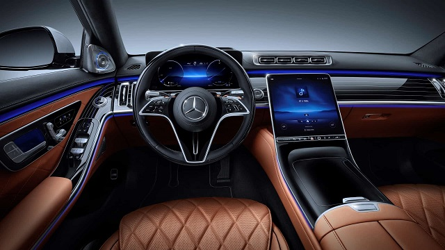 2022 Mercedes-Benz GLC-Class interior