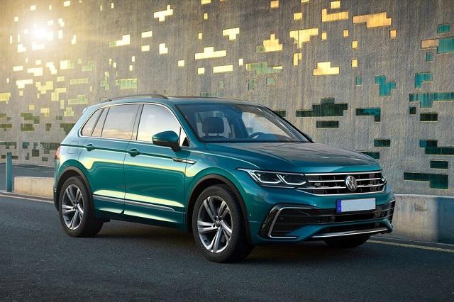2022 VW Tiguan front