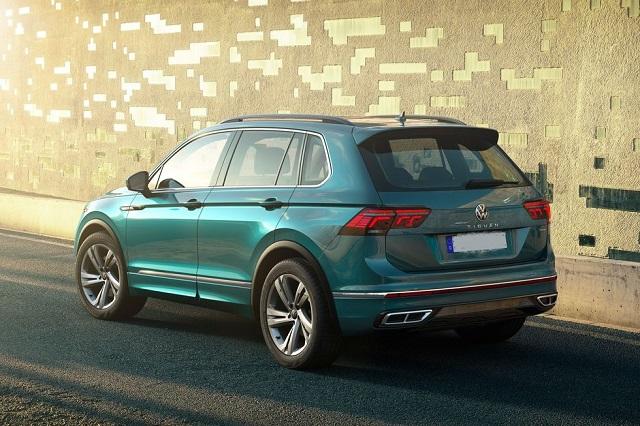2022 VW Tiguan rear