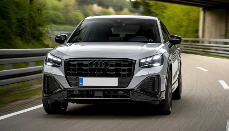 2022 Audi Q2 front
