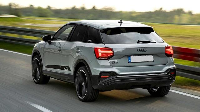 2022 Audi Q2 rear