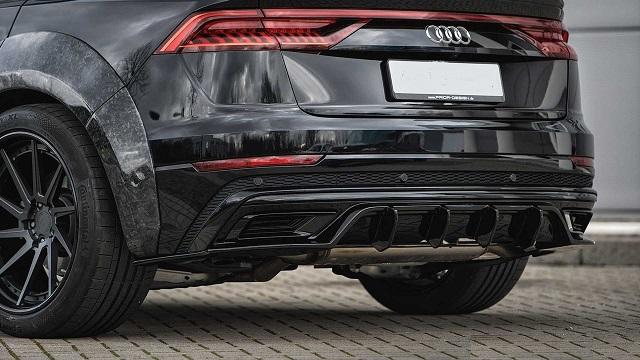2022 Audi Q8 rear