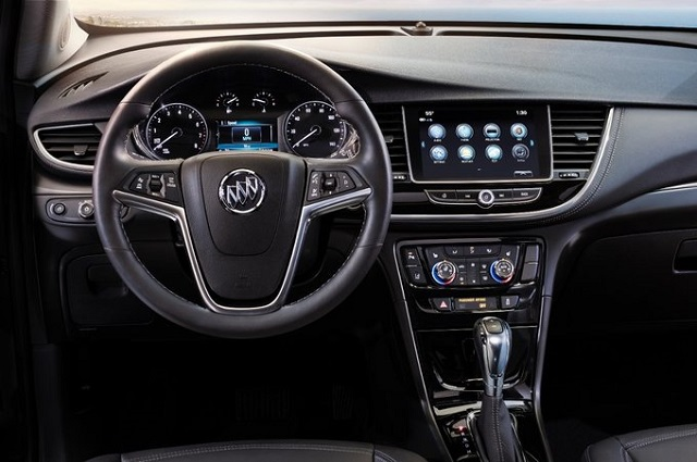 2022 Buick Encore interior