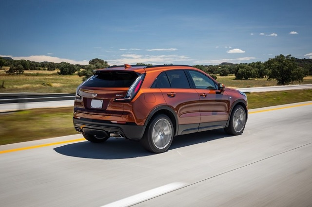 2022 Cadillac XT4 rear
