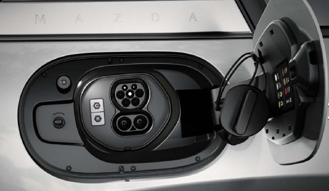 2022 Mazda MX-30 charging port