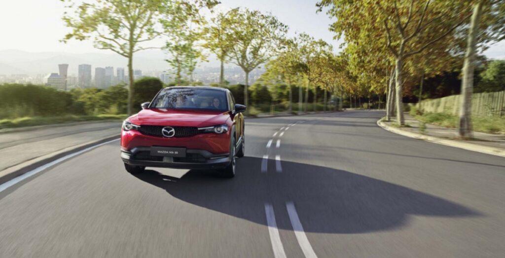 2022 Mazda MX-30 front