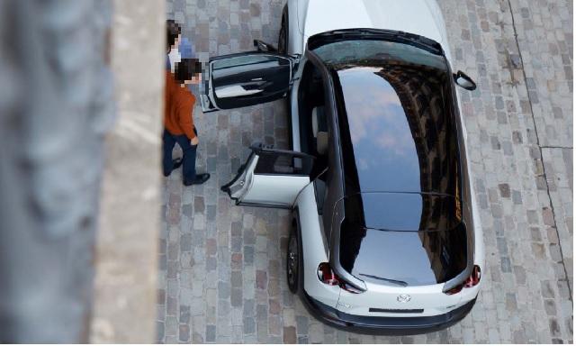2022 Mazda MX-30 rear