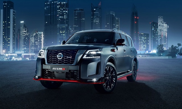 2022 Nissan Patrol Nismo front