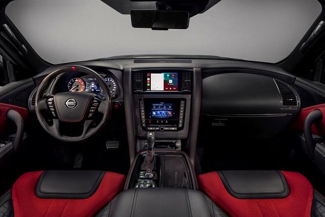 2022 Nissan Patrol Nismo interior