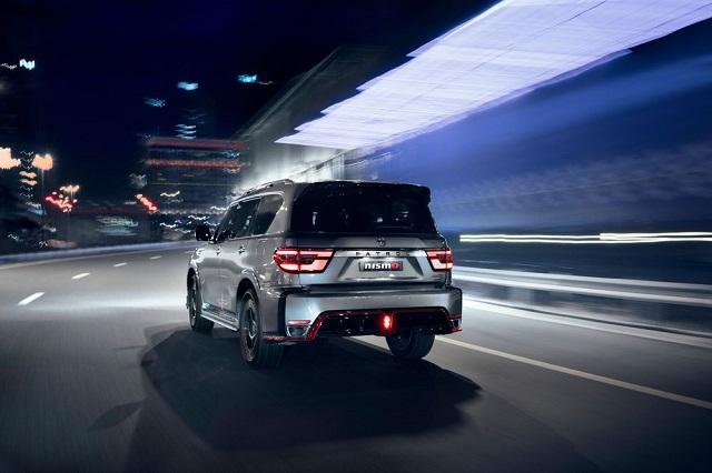 2022 Nissan Patrol Nismo rear