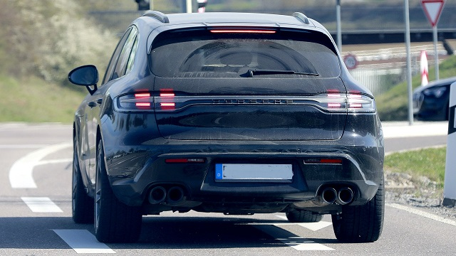 2022 Porsche Macan rear
