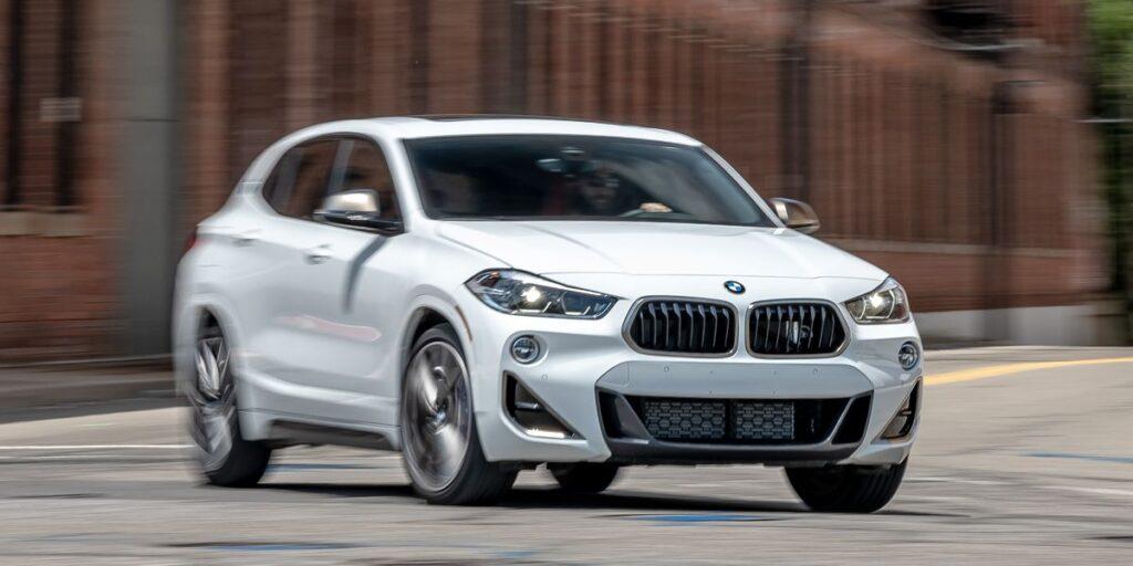 2022 BMW X2 front