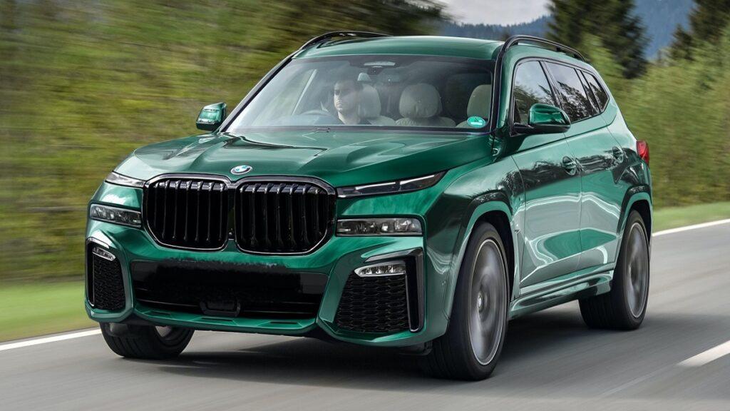 2022 BMW X8 front
