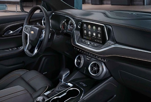 2022 Chevy Blazer cabin